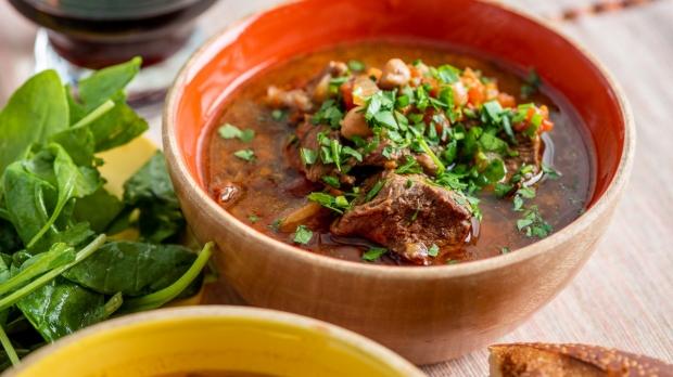 Instant Pot Mediterranean lamb stew by Katie Workman