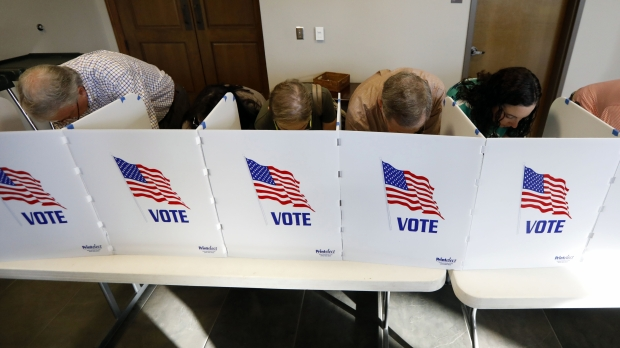 Voters on Election Day