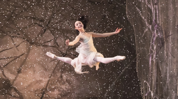 A ballet dancer in The Nutcracker