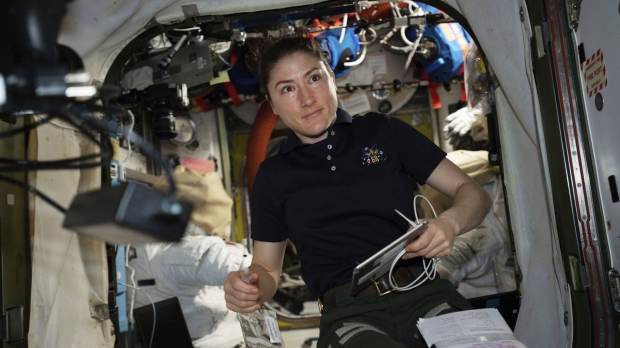 NASA Christina Koch astronaut