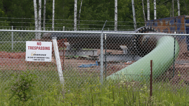 An Enbridge pipeline