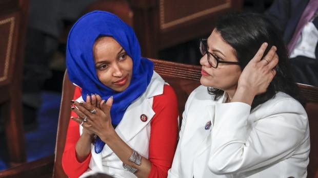 Representatives Ilhan Omar and Rashida Tlaib