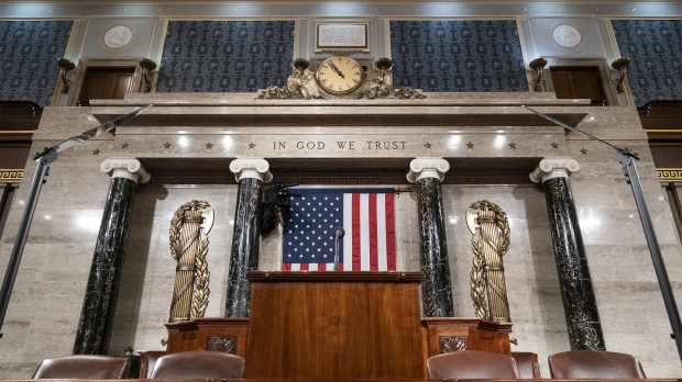 The chamber of the House of Representatives on Monday, Feb. 3, 2020.