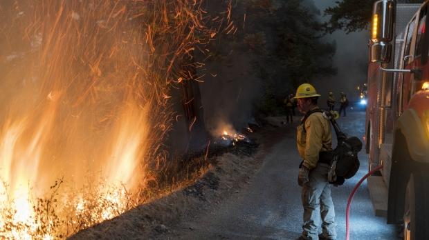 2020 wildfires west coast california wildfire