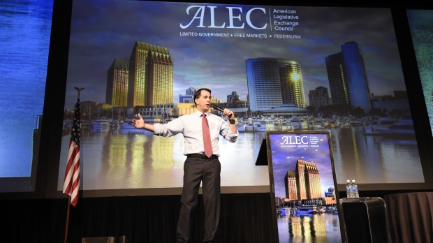 walker ALEC exchange council legislation