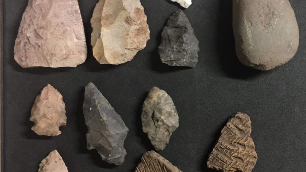 Artifacts collected in Oshkosh