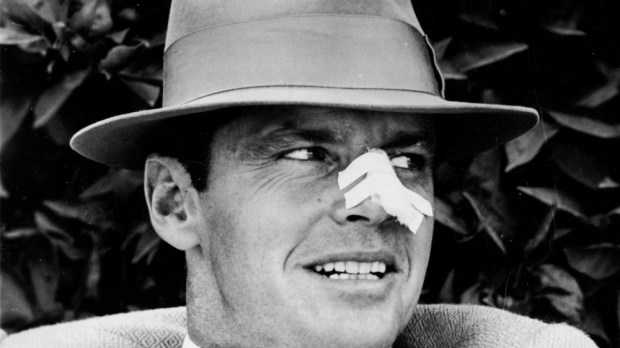 "Jack Nicholson as Jake Gittes in the 1974 film, ""Chinatown"""