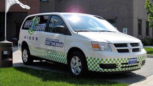 Door 2 Door Rides vehicle