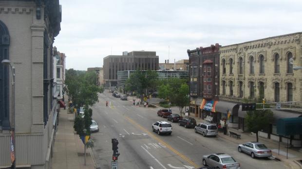 Downtown Janesville, Wis.
