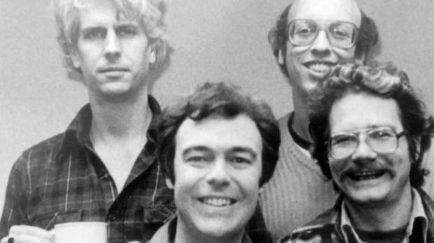 Left to right: Phil Austin, Philip Proctor, Peter Bergman, David Ossman
