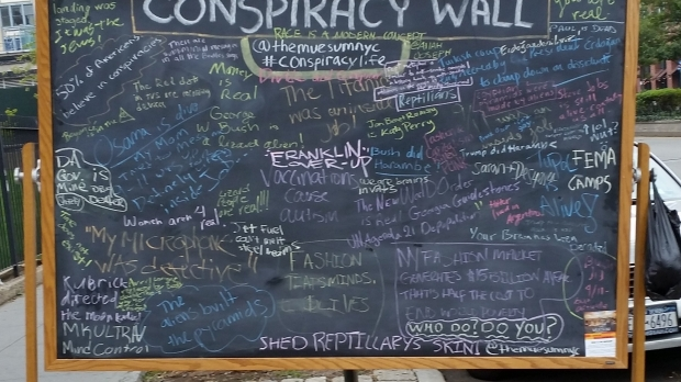conspiracy theory wall