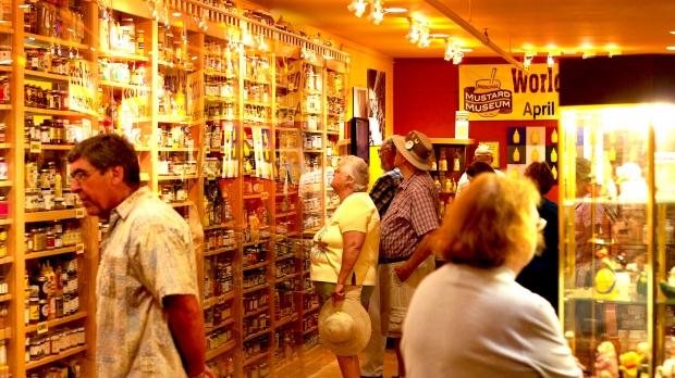 Mustard Museum exhibits