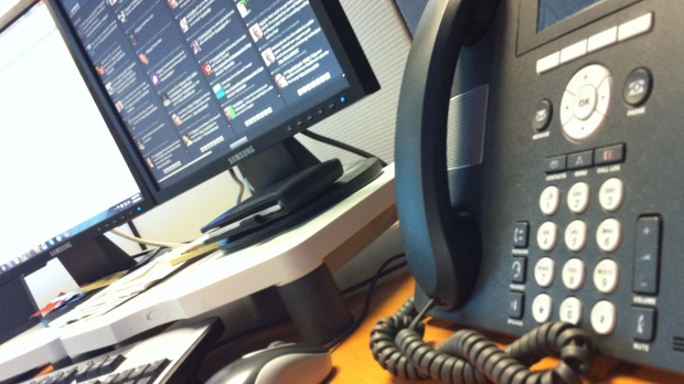 Office desk phone