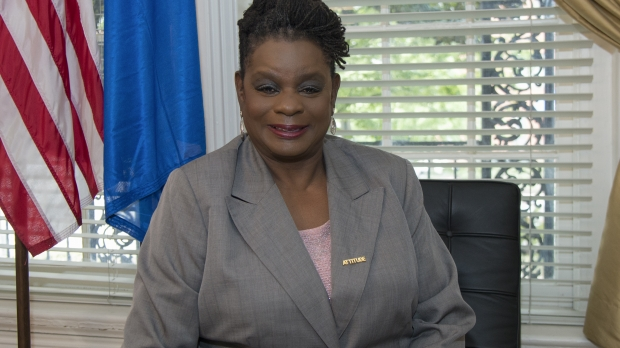 U.S. Rep. Gwen Moore of the Fourth Congressional District