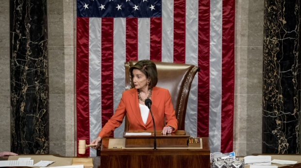 House Speaker Nancy Pelosi at the U.S. House of Representatives