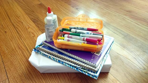 children's school supplies