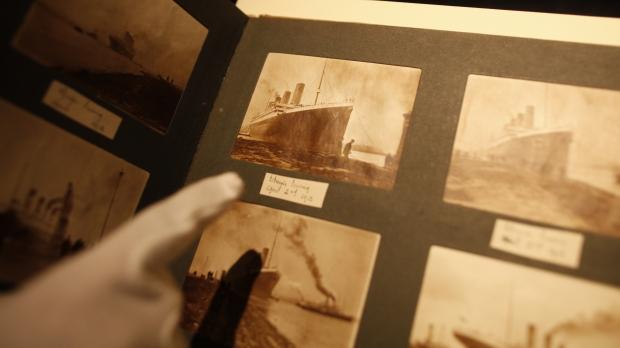 titanic photos ship food sink history
