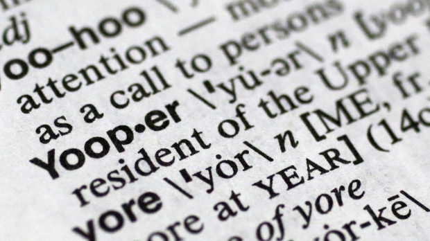 Yooper in dictionary