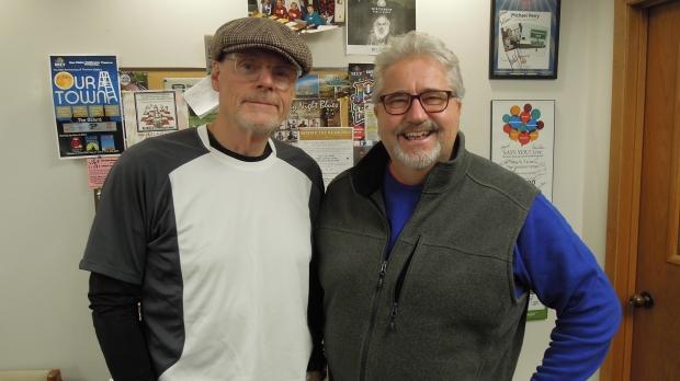 Al Ross and Jon Thorpe