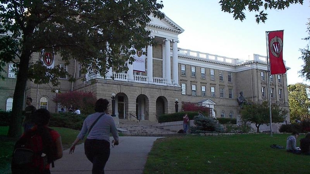 Bascom Hall on the University of Wisconsin campus
