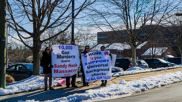 Sandy Hook signs, Cool Revolution (BY-NC-ND)