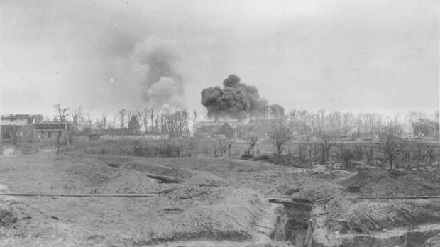 World War One--war zone in France