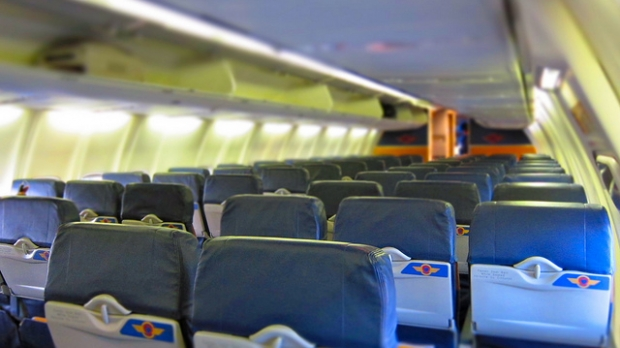 airplane interior, Kevin Dooley CC-BY