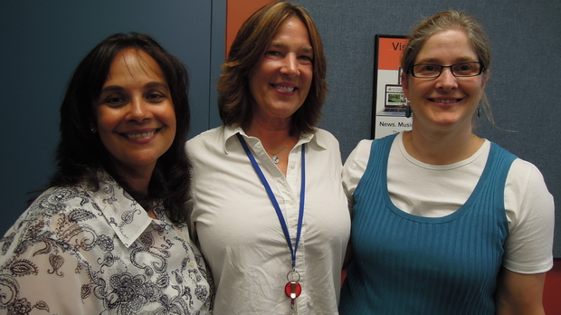 Judge Ramona Gonzalez, Becky Spanjers, and Jane Klekamp.