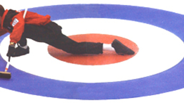 Mike Peplinski curling