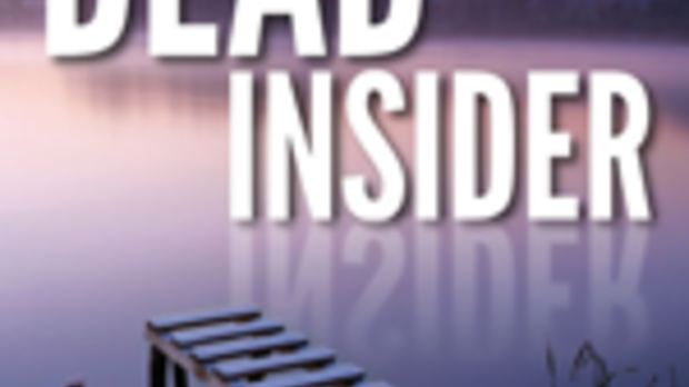 """Cover of """"Dead Insider"""" by Victoria Houston"""