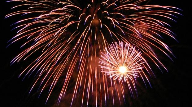 fireworks, Ian Kluft (cc)