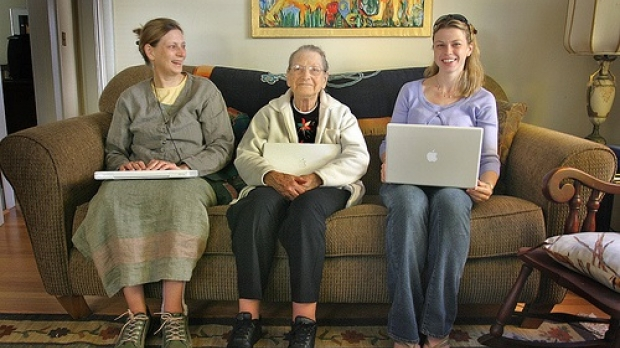 generations of women, image by Flickr user lyzadanger