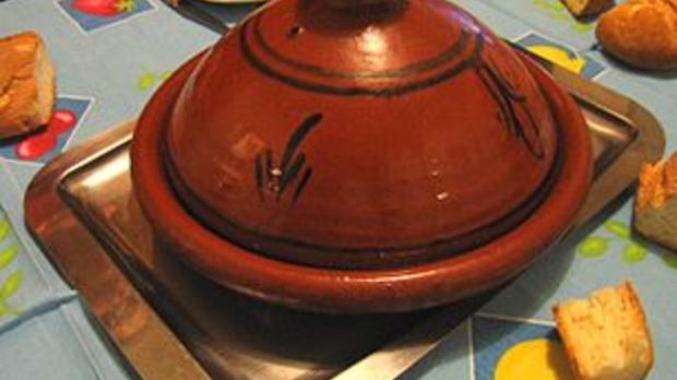 tajine, image by Wikimedia Commons user Iron Bishop