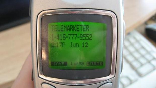 telemarketer, image by Flickr user Chris Pirillo