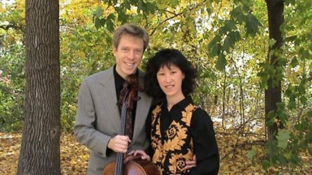 Florestan Duo - cellist Stefan Kartman and pianist Jennie Yu