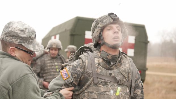 Wisconsin National Guard members