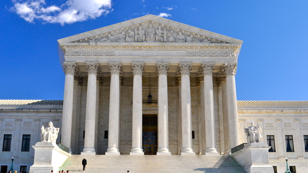 Photo of the US Supreme Court building