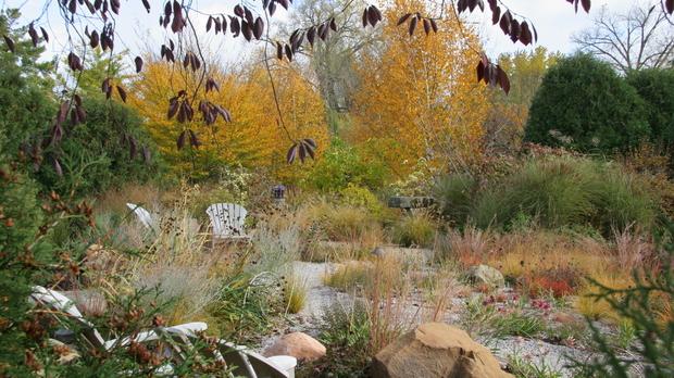 gravel garden, Olbrich Botanical Gardens