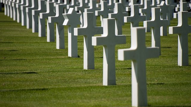 American cemetery in Normandy, Mat's eye (CC-BY)