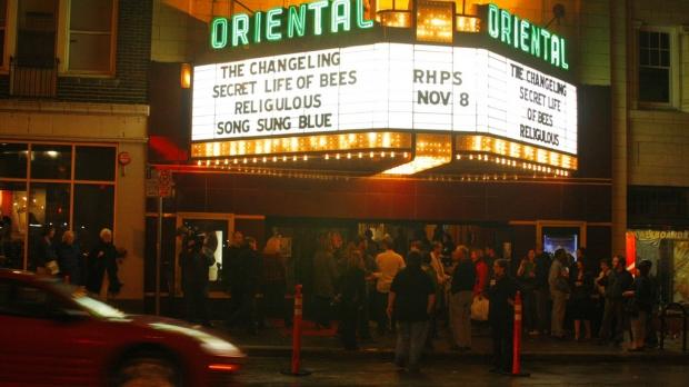 Oriental Theatre in Milwaukee