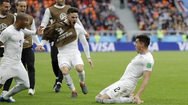 World Cup 2018, Uruguay, Egypt, Laurent Dubois