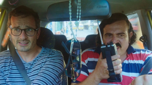 David Farrier on a tour with a Pablo Escobar impersonator in Columbia