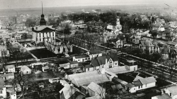 Green Bay around 1890.