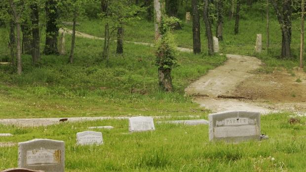 Green burials, Oak Hill Cemetery