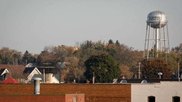 Hartford, Wis. watertower