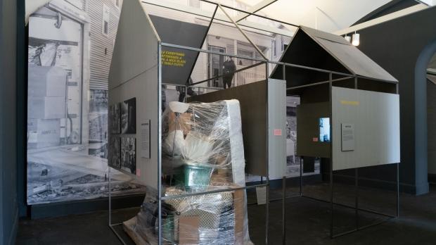 Evicted museum exhibit
