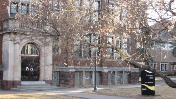 Erlanson Hall on UW-Superior campus
