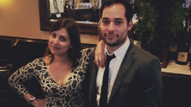 Stephanie Wittels Wachs and her brother Harris Wittels
