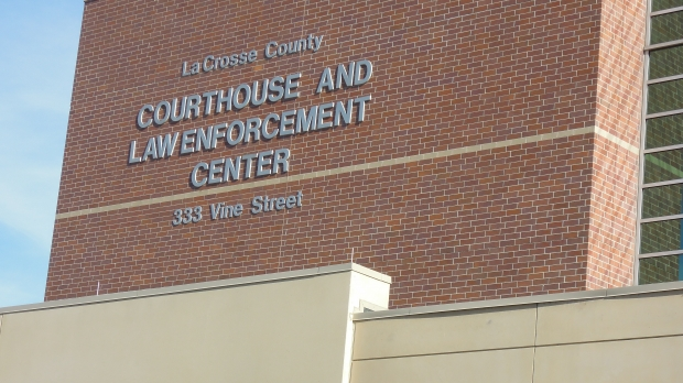 Close-up of La Crosse County's Courthouse and Law Enforcement Center