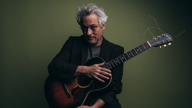Marc Ribot with guitar